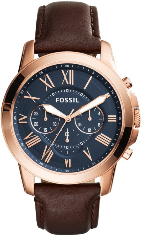 Fossil FS5068 GRANT Analog Watch - For Men
