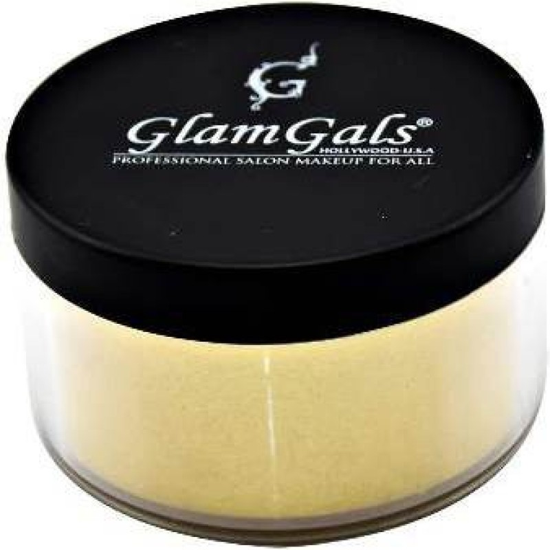 GlamGals Loose Powder Compact(Gold, 30 g)