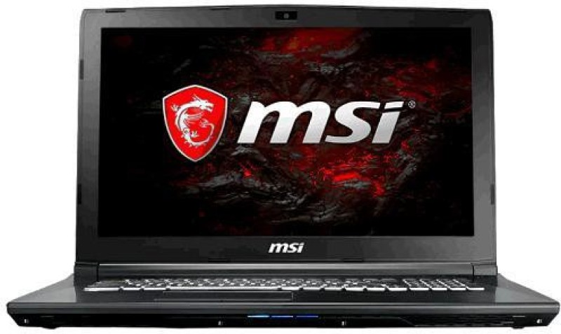 MSI GL Series Core i7 7th Gen - (8 GB/1 TB HDD/Windows 10/4 GB Graphics) GL62 7RDX Laptop(15.6 inch, Black) image