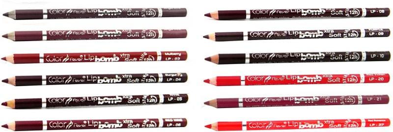 Color Fever Mauve Color Lip Liner Pencil 133(Multicolor)