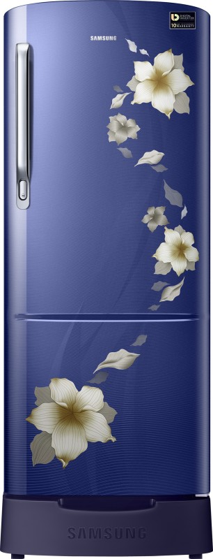Samsung 192 L Direct Cool Single Door Refrigerator(Star Flower Blue,...