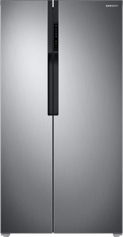 Samsung 604 L Frost Free Side by Side Refrigerator(Refined Inox(Matt Doi Metal),...