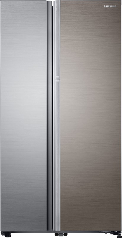 Samsung 868 L Frost Free Side by Side Refrigerator(Real Stainless,...