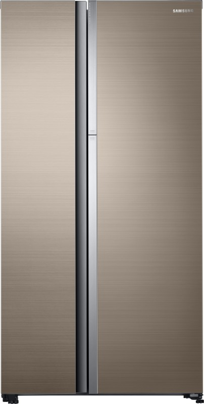 Samsung 674 L Frost Free Side by Side Refrigerator(Refined Gleam,...