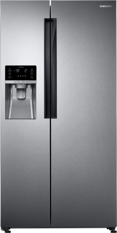 Samsung 654 L Frost Free Side by Side Refrigerator(Clean Steel,...