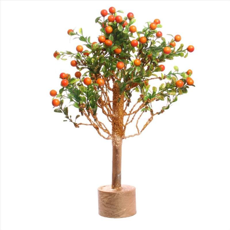 JaipurCrafts New Arrival Decorative Season Bonsai Artificial Plant with Pot(42 cm, Multicolor)