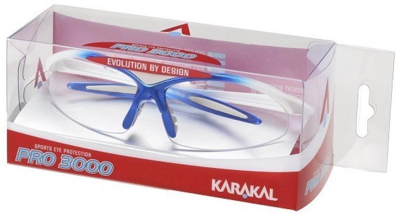 KARAKAL PRO 3000 Squash Goggles(Blue, White)