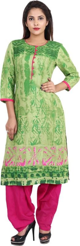 Teej Printed Kurti & Salwar(Stitched)