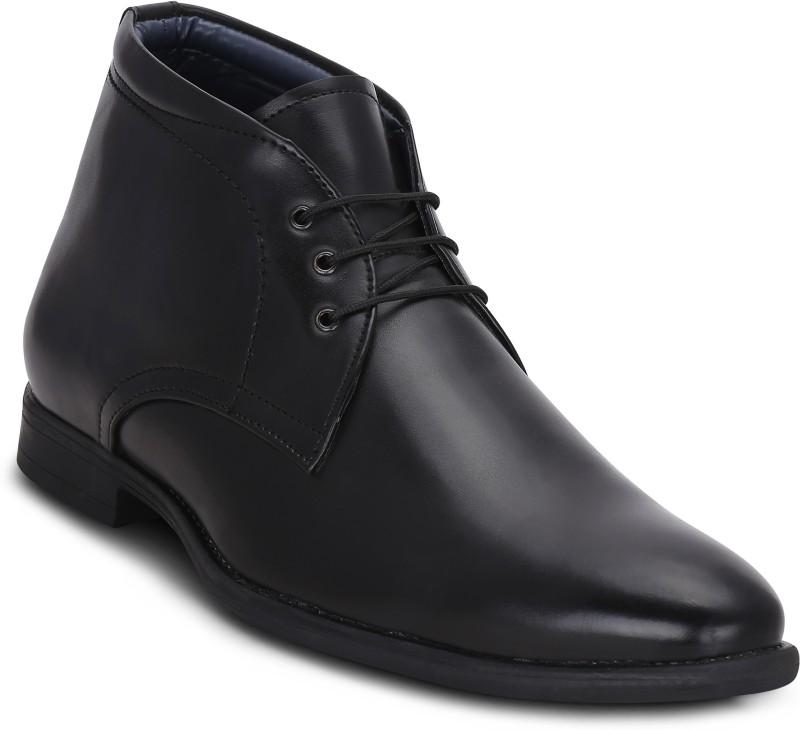 Get Glamr Seattle Boots For Men(Black)