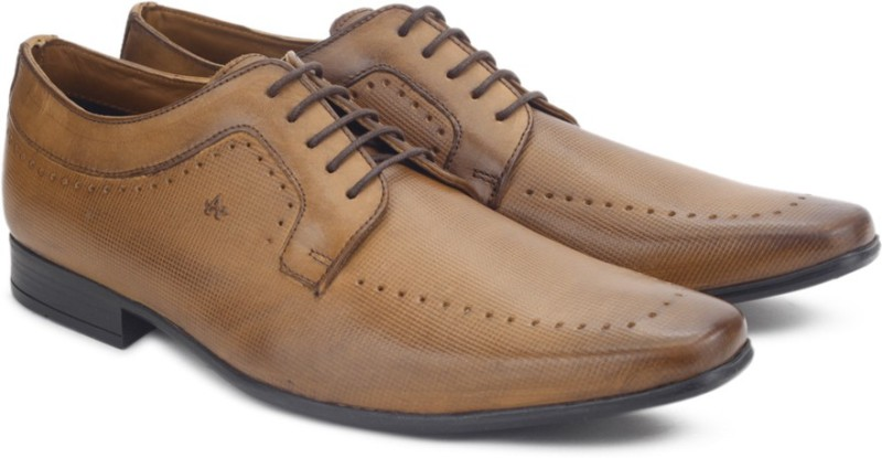 Arrow ACTON Lace Up Shoes For Men(Tan)
