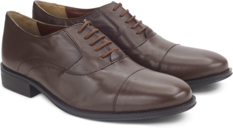 Arrow ALFORD Lace Up Shoes For Men(Brown)