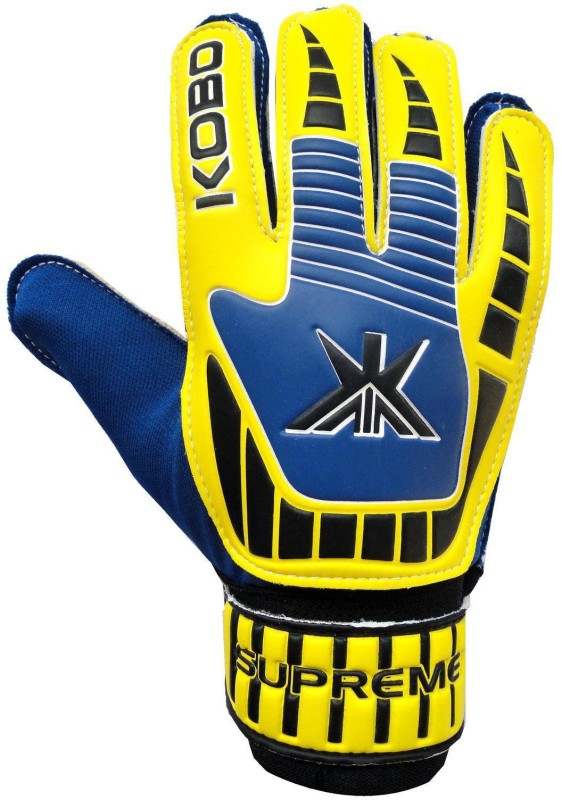 Kobo Supreme Goalkeeping Gloves (M, Multicolor)