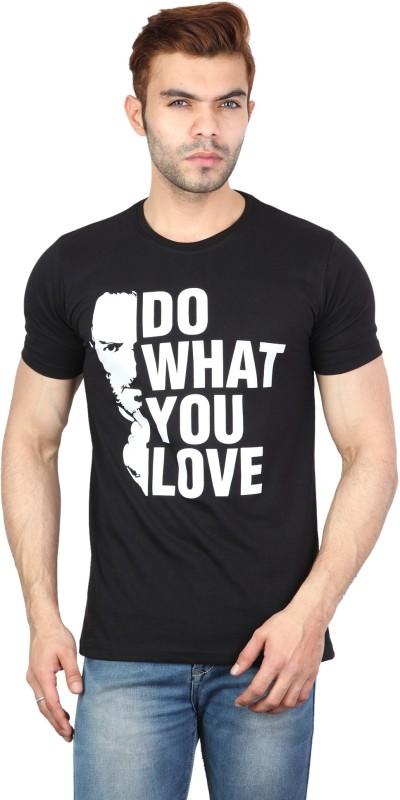 HAANUM Graphic Print Men Round Neck Multicolor T-Shirt