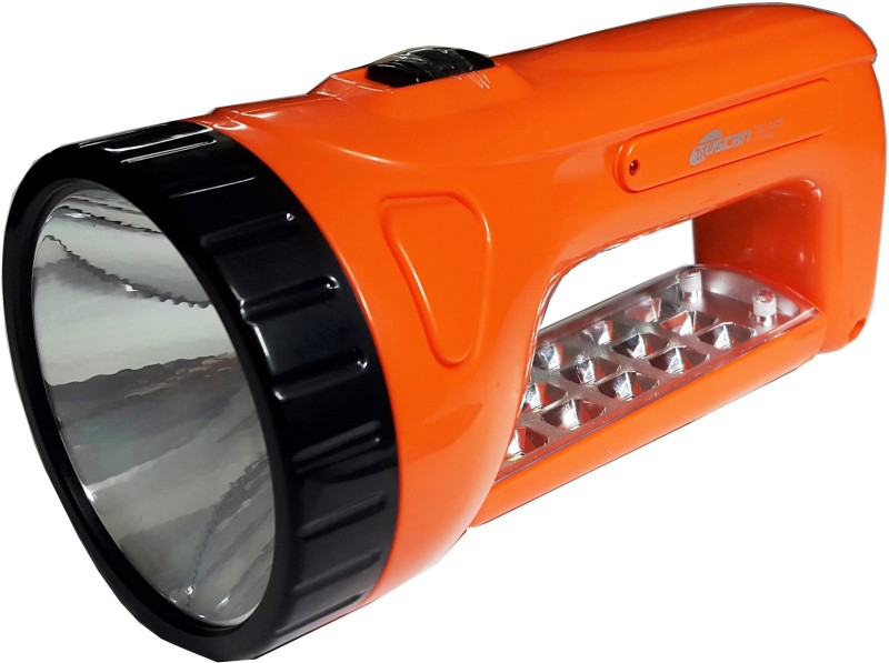 Tuscan Rechargeable Double Mode TSC-5529 Torch(Orange : Rechargeable)