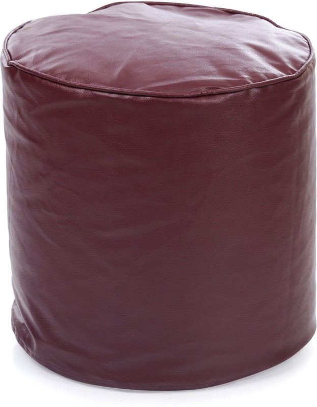 Home Story Large Bean Bag Cover(Maroon)