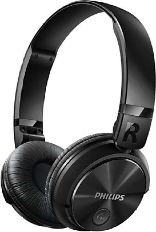 Philips SHB3060BK/00 Bluetooth Headset with Mic(Black, Over the Ear)