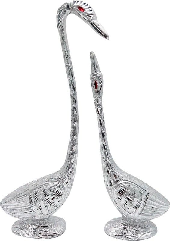 Art N Hub Fengshui Romantic Swan Pair Love Couple Figurine Home Décor...