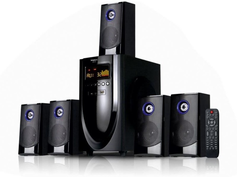 Impex Mesto 5.1 Bluetooth Home Audio Speaker(Black, 5.1 Channel)