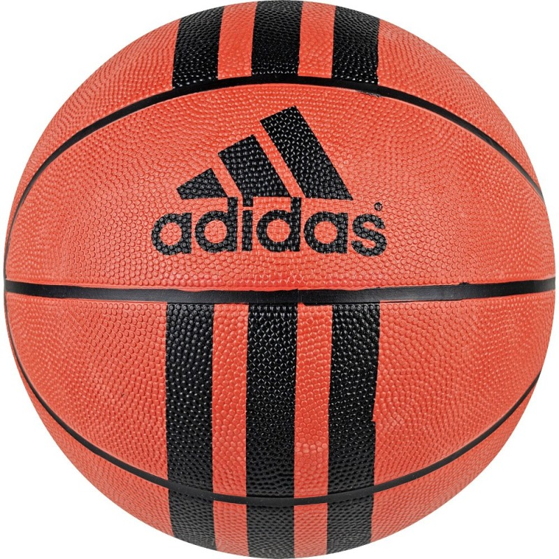 Adidas 3 Stripe D 29.5 Basketball - Size: 7(Pack of 1, Natural, Black)