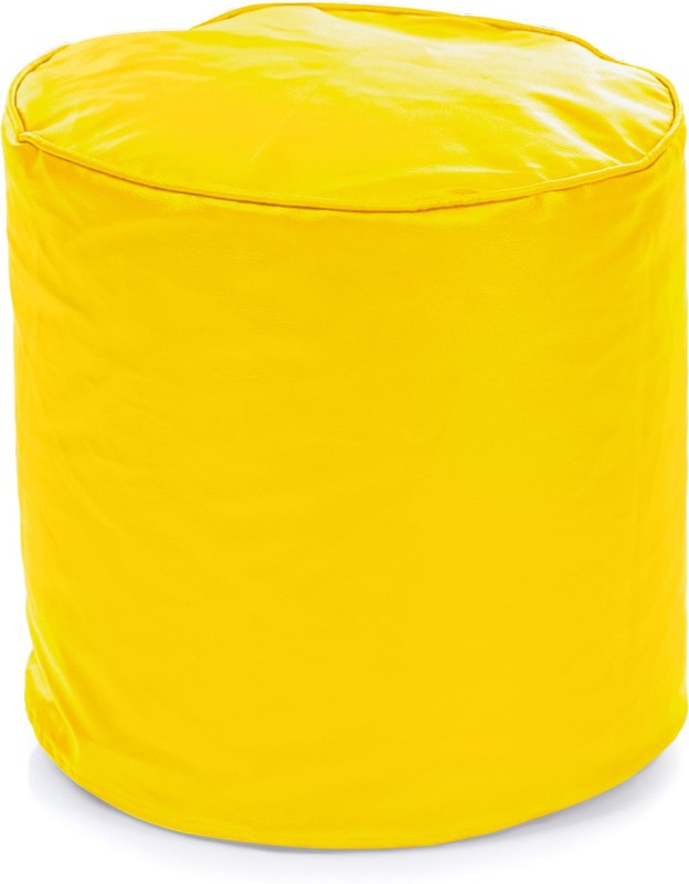 Home Story Large Bean Bag Cover(Yellow)