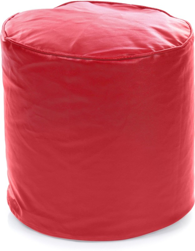 Home Story Large Bean Bag Cover (Without Beans)(Red)