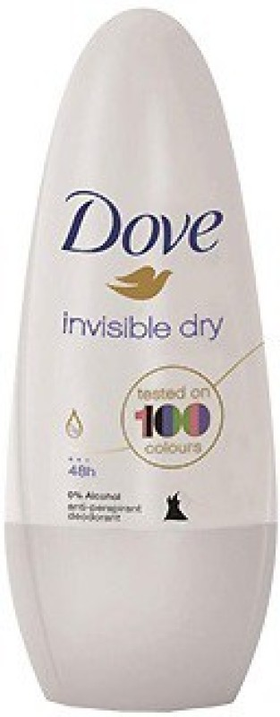 Dove (Invisible Dry) Deodorant Roll-on - For Men & Women(50 ml)