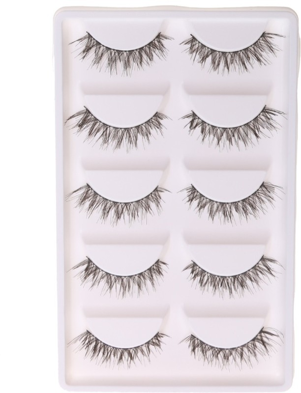 Magideal Stylish Real Eyelash(Pack of 10)