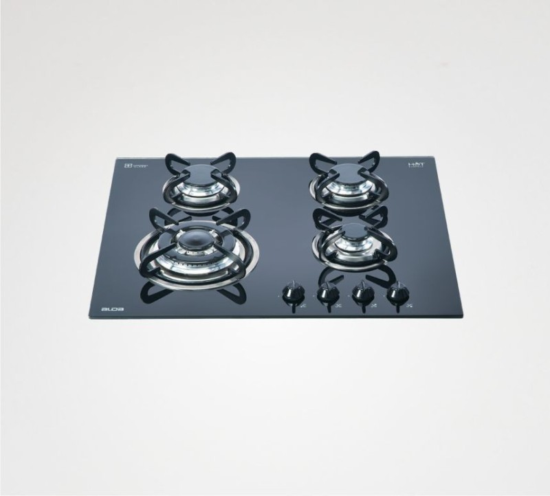 Glen Alda Kitchen Built In Hob BHA 164 TR GLS Glass Cooktop - Auto Ignition Glass Automatic Gas Stove(4 Burners)