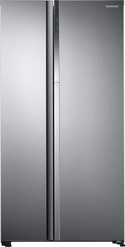 Samsung 674 L Frost Free Side by Side Refrigerator(Elegant Inox (Light Doi...