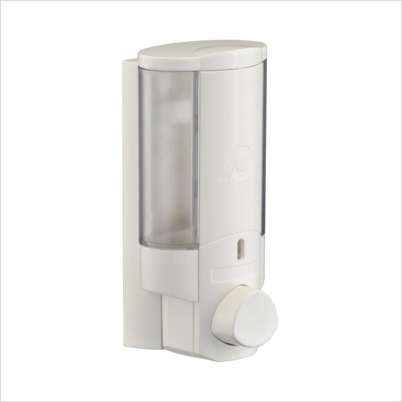 Pearl 300 ml Gel, Lotion, Conditioner, Soap, Shampoo Dispenser(White)