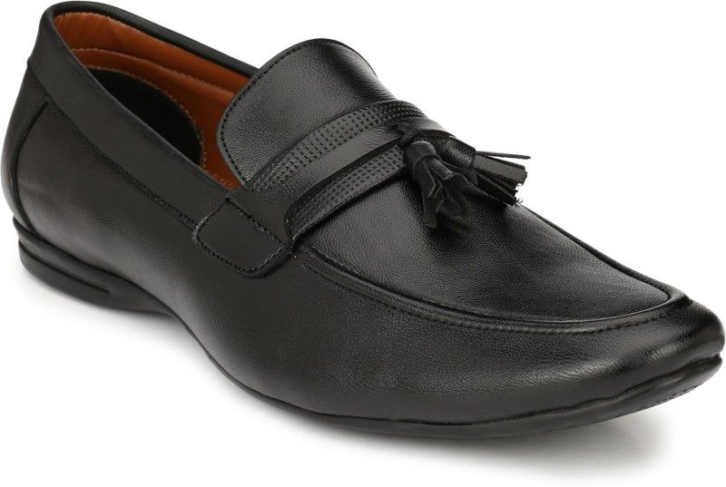 Real Blue Slip On For Men(Black)