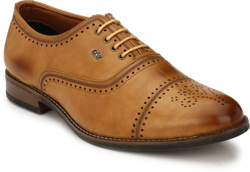 Real Blue Oxford For Men(Tan)