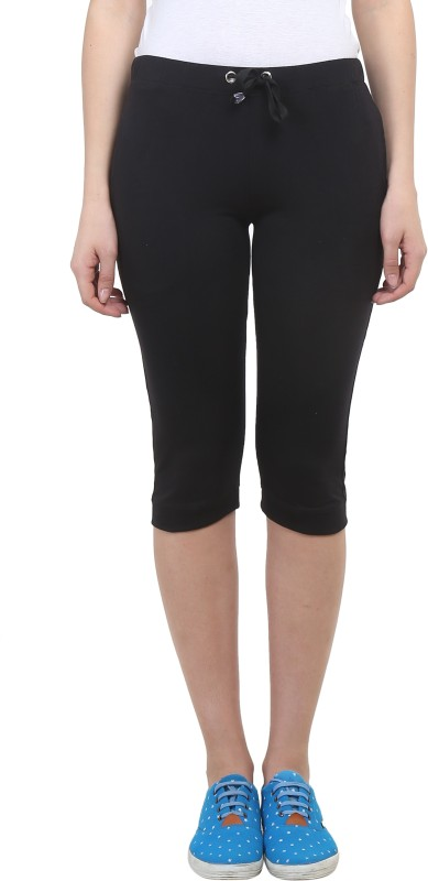 Vimal Solid Women's Black Track Pants
