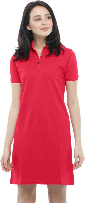 ab0fbc75d7296b Bewakoof Women s T Shirt Red Dress