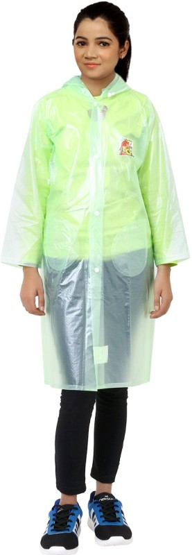 Finery Solid Womens Raincoat