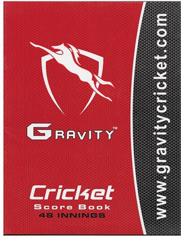 Gravity Cricket Scorebook(Scores 48 Matches)