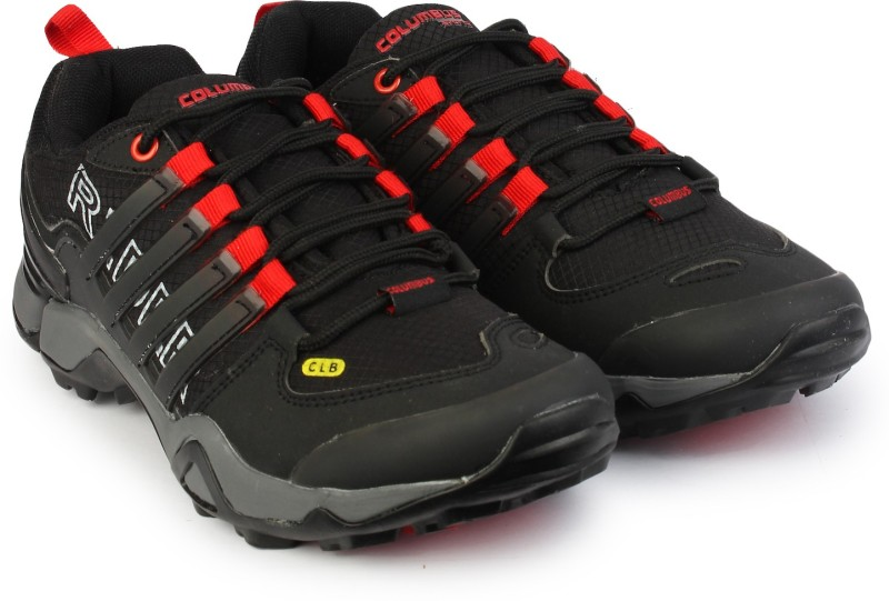 Columbus Hiking & Trekking Shoes(Black)