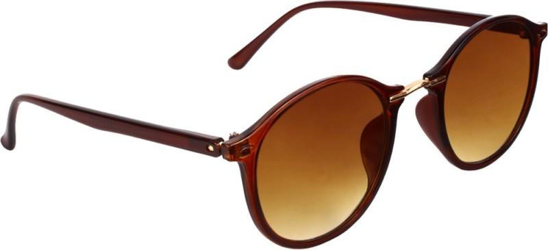 Olvin Oval Sunglasses(Brown) image
