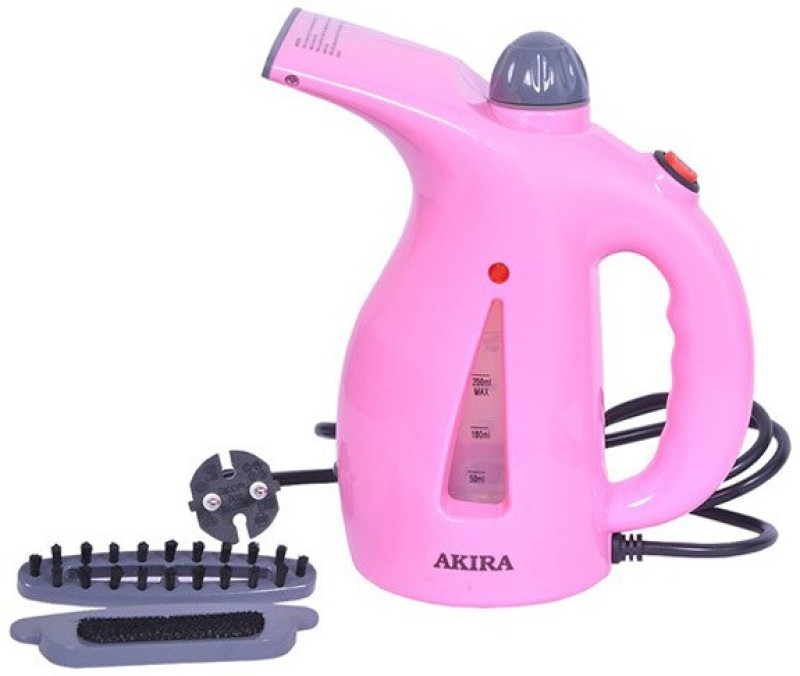 AVENUE Mini Portable Electric Handheld Facial Brush Garment Steamer(Pink)