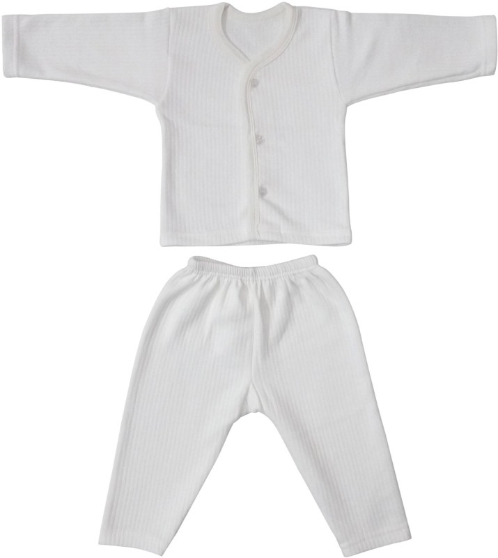 Littly Top - Pyjama Set For Boys(White)
