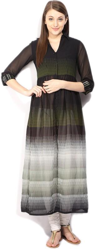 Biba Womens Maxi Black Dress