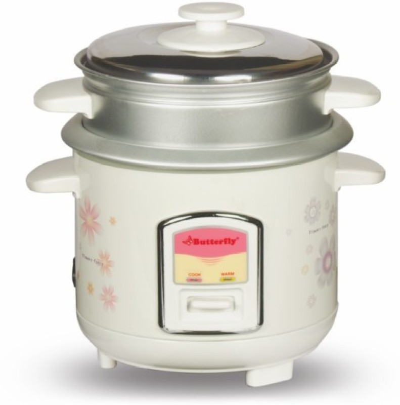 Butterfly KRC-08 Electric Rice Cooker(0.6 L, Cream)
