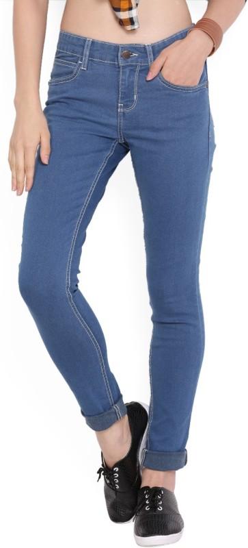 3. Newport Skinny Women's Blue Jeans