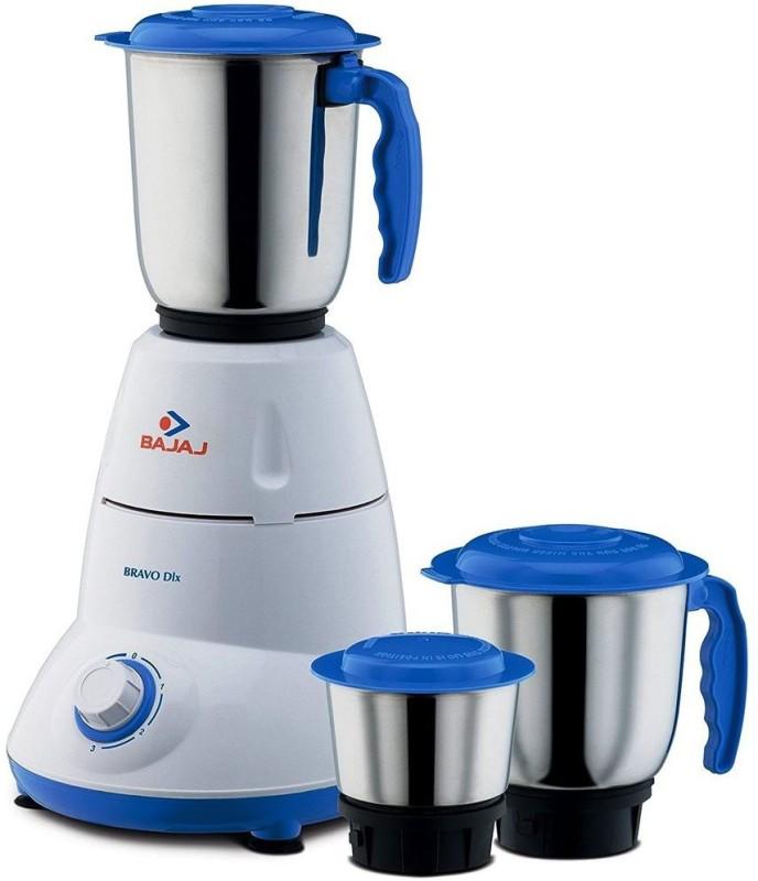 BAJAJ 410175 500 W Mixer Grinder(Black, White, 3 Jars)