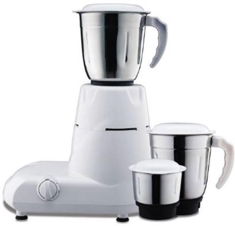 BAJAJ 410084 500 W Mixer Grinder(Black, White, 3 Jars)