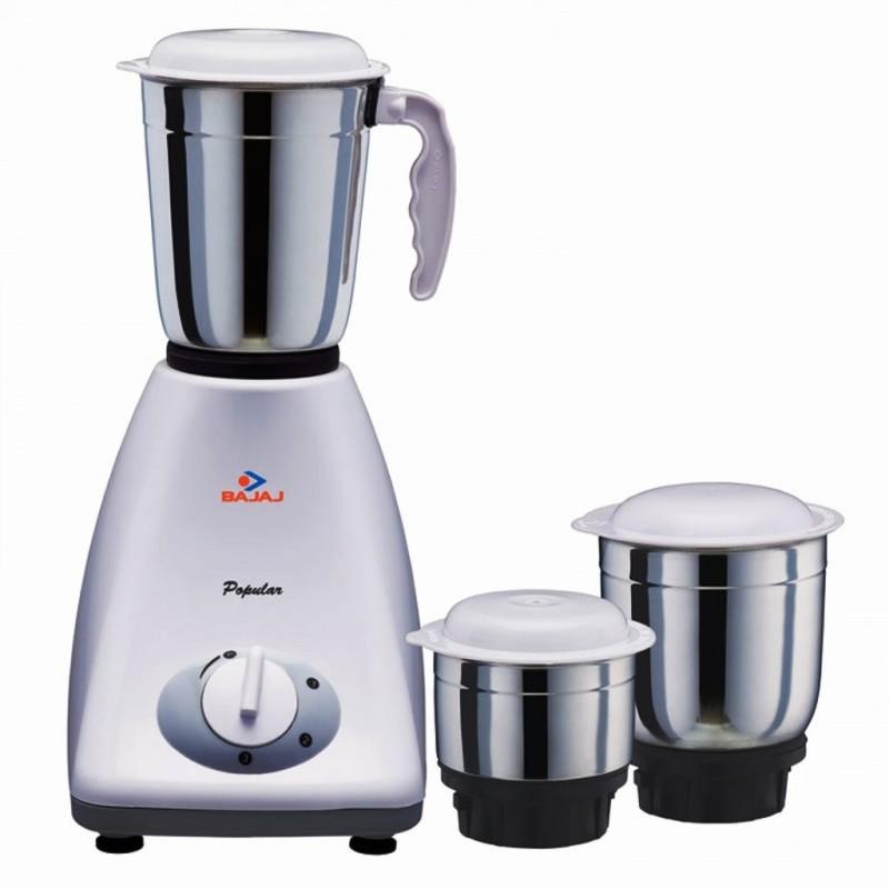 BAJAJ 410154 450 W Mixer Grinder(Black, White, 3 Jars)