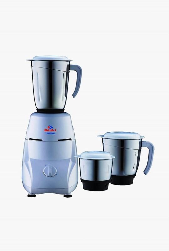 BAJAJ 410185 550 W Mixer Grinder(Black, White, 3 Jars)