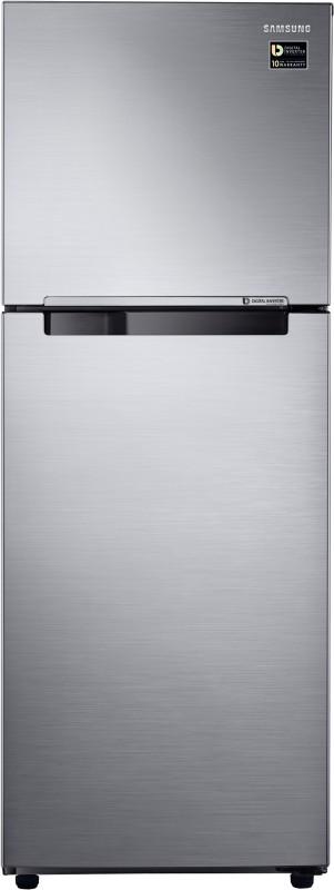 Samsung 321 L Frost Free Double Door Refrigerator(Elegant Inox, RT34M3053S8/HL)