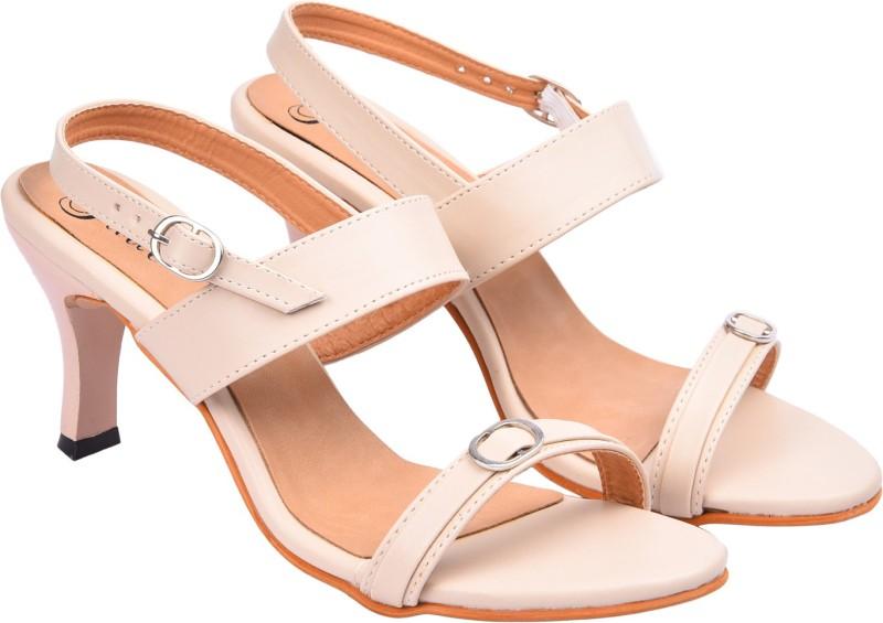 3. Jade Women Beige Heels