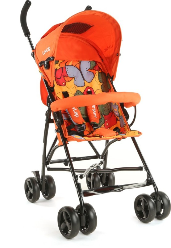 LuvLap Tutti Frutti Baby Buggy - Orange Stroller(3, Orange)